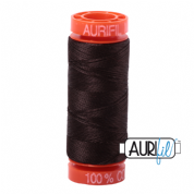 Aurifil 50 Cotton Thread - 1130 (Very Dark Bark)